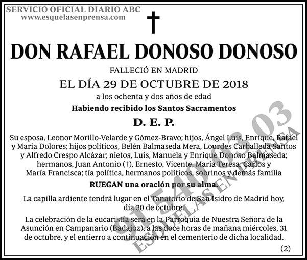 Rafael Donoso Donoso